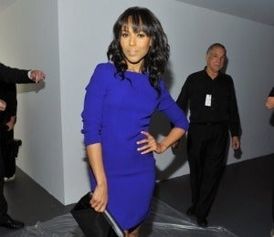 Celeb Style: Blue Beauties