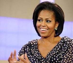 First Lady Wears H and M on 'Today,' 'Regis and Kelly'