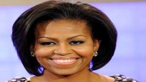 Michelle Obama Participates in 'Hall of Game'