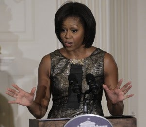 First Lady Salutes Motown with Youth Workshop