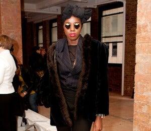 Street Style: Fashionistas at Stephen Burrows Show