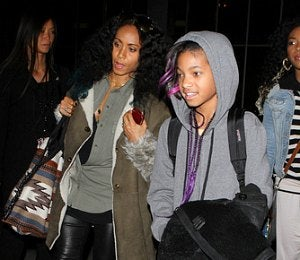 Star Gazing: Jada and Willow Smith Spotted at LAX