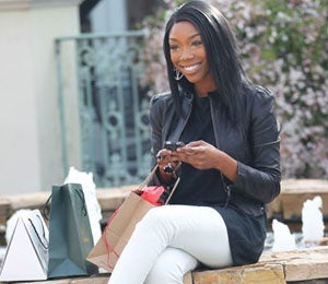 Star Gazing: Brandy Out Shopping in L.A.