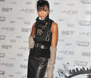 Star Gazing: Chanel Iman Attends 2011 Juno Awards