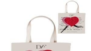 Daily Dose: Diane Von Furstenberg Fabric Tote