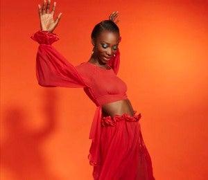 Exclusive: Georgie Badiel Models Spring Trends