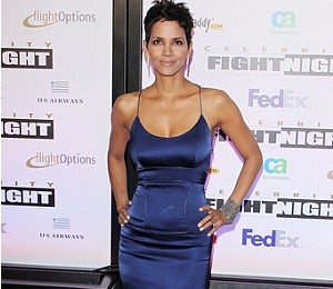 Star Gazing: Halle Berry at Ali Celebrity Fight Night