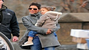 Halle Berry Throws Nahla Birthday Bash Without Dad
