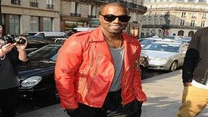 Star Gazing: Kanye West Attends Paris Fashion Week