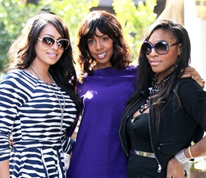Star Gazing: LaLa and Kelly Take Serena to Lunch