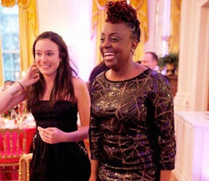Star Gazing: Ledisi Visits the White House