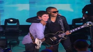 Must-See: Lenny Kravitz Surprises Young Fan on 'Oprah'