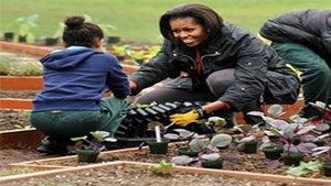 Coffee Talk: Michelle Obama to Write Gardening Book