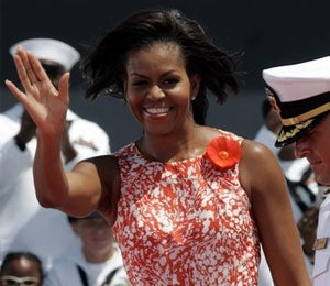 The First Lady Focuses on Military Families