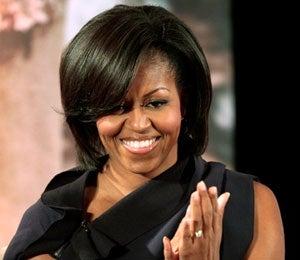 Star Gazing: Mrs. Obama Shines at 'Women of Courage'