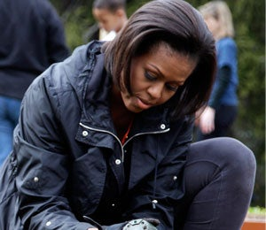 Michelle Obama's Top 5 Reasons to Take Up Gardening