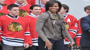 First Lady Diary: Michelle Obama at NHL Event