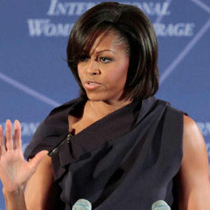 First Lady Observes International Women's Day