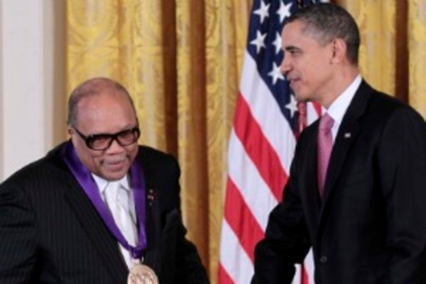 Obama Honors Quincy Jones with Arts Medal - Essence