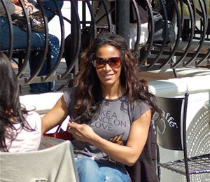 Star Gazing: Sheree Whitfield Lunches in Hollywood