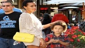Solange Takes Son on Trip to Kenya