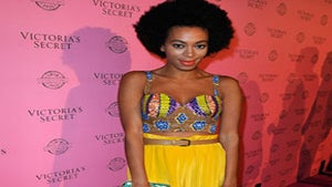 Star Gazing: Solange Rocks Tribal Chic on Pink Carpet