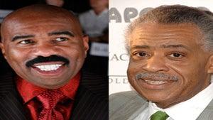Steve Harvey and Al Sharpton Host Black Male Summit