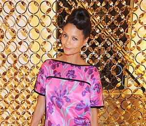 Star Gazing: Thandie Newton at Louis Vuitton Bash