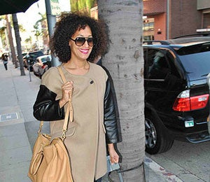 Star Gazing: Tracee Ellis Ross Looks Casual and Chic