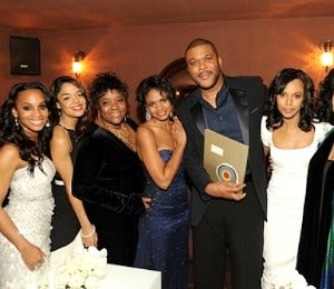 Star Gazing: 'For Colored Girls' Cast at Tyler Perry Party