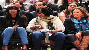 Star Gazing: Kelly, Whoopi and Vanessa Sit Courtside