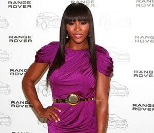 Star Gazing: Serena Radiates in Purple Cocktail Dress