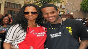 Star Gazing: Garcelle and Son Give Back for Easter