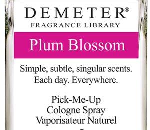 Beauty Beat: Demeter Plum Blossom Fragrance