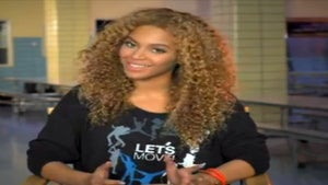Must-See: Beyonce's 'Let's Move' Flash Workout