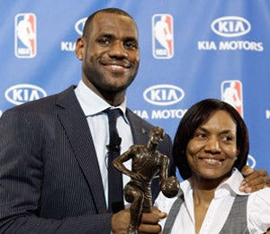 LeBron James' Mother Arrested for Assault
