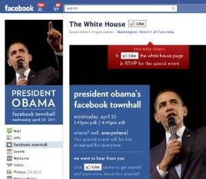 President Obama to Host Facebook Town Hall Meeting