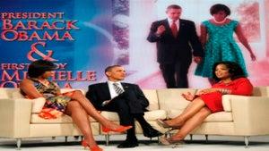President Obama Shows Oprah His Birth Certificate