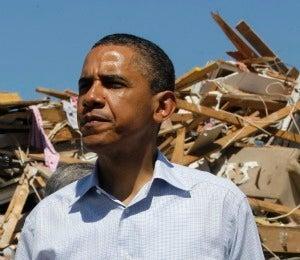 President Obama Visits Alabama After Storm Damage
