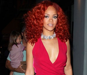Star Gazing: Rihanna is Radiant in Red