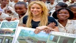 Shakira Helps Rebuild Catholic Girls' School in Haiti
