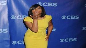 Star Gazing: Taraji Gets Colorful at CBS Upfronts
