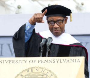 denzel washington graduation speech upenn