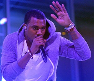 Star Gazing: Kanye West Performs at MOMA