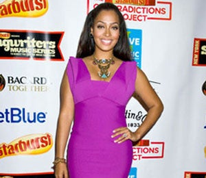 Star Gazing: LaLa Vazquez is Pretty in Purple