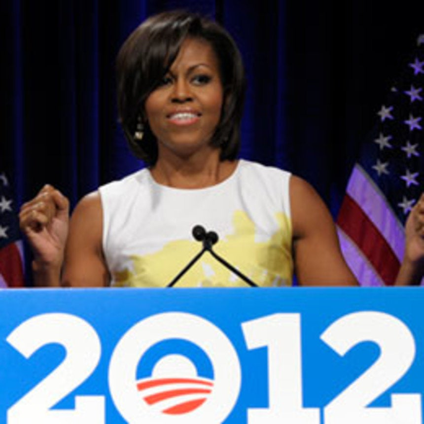 Michelle Obama Is Fired Up for the 2012 Campaign