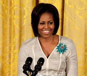 First Lady Michelle Obama Hosts Mother's Day Tea
