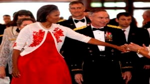 Michelle Obama Speaks to West Point Graduates