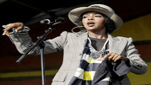 Star Gazing: Lauryn Hill Rocks the Crowd in NOLA