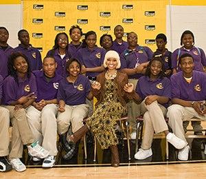 Nicki Minaj is Principal for a Day at Chicago H.S.